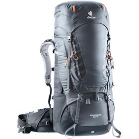 Deuter Aircontact 55 + 10 Sac à dos, graphite-black